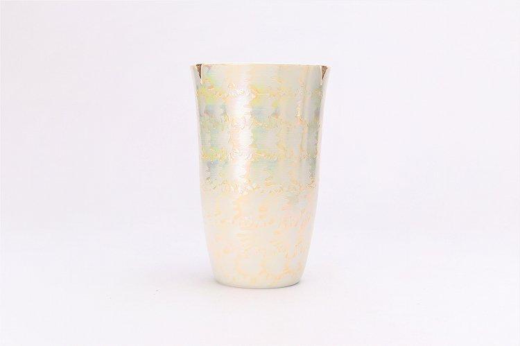 楽々シリーズ ラスターゴールド・シルバー ペアフリーカップ (化粧箱入り) 画像サブ2