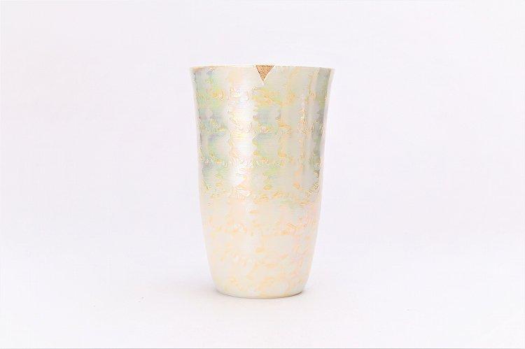 楽々シリーズ ラスターゴールド・シルバー ペアフリーカップ (化粧箱入り) 画像サブ3
