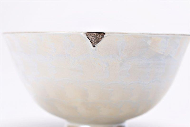 楽々シリーズ ラスターシルバー 茶碗(中) (化粧箱入り) 画像サブ3