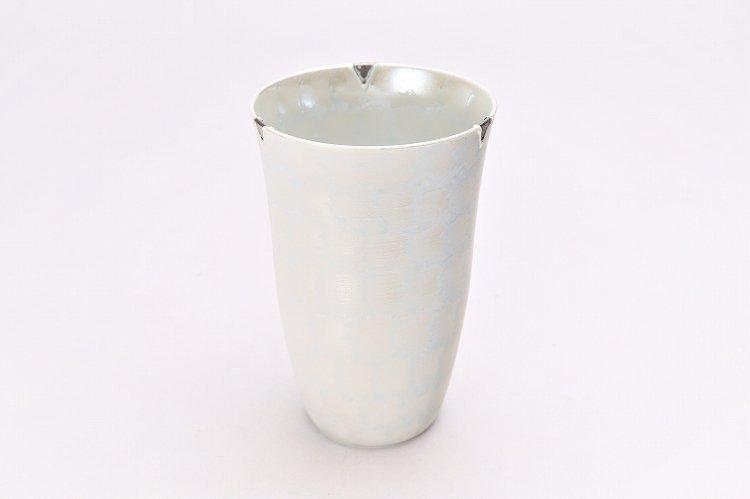 楽々シリーズ ラスターシルバー フリーカップ (化粧箱入り) 画像メイン