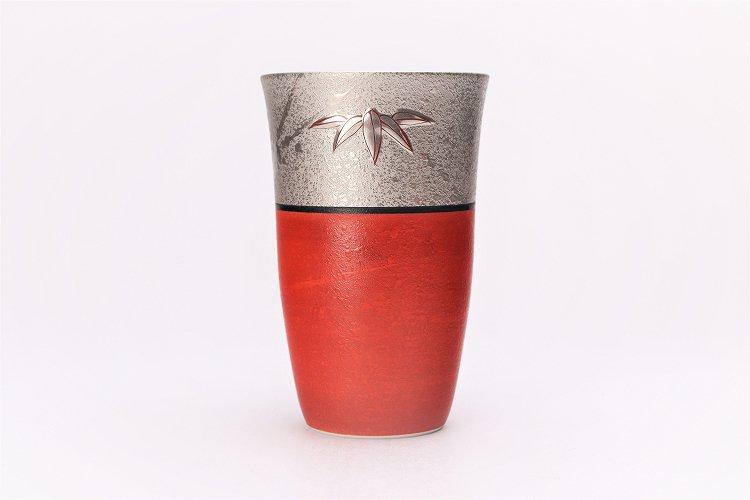 楽々シリーズ 錦朱巻銀彩松竹梅 フリーカップ (化粧箱入り) 画像サブ2