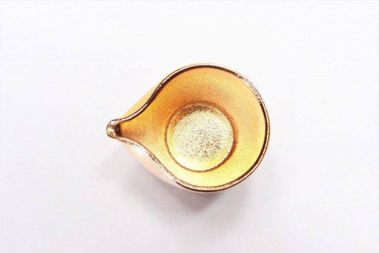 GOLDシリーズ 片口注器・反ぐい呑み (化粧箱入り) 画像サブ5