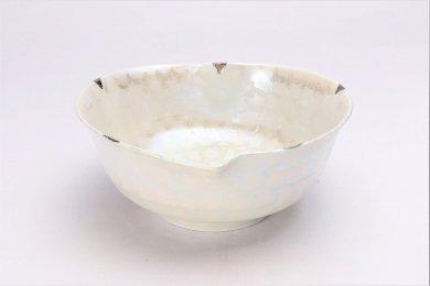 ラスターシルバー りんご鉢 (化粧箱入り)