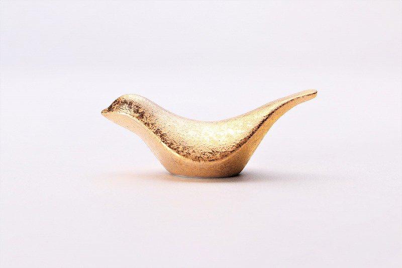 GOLDシリーズ 鳩箸置(2個セット)(化粧箱入り) 画像サブ2