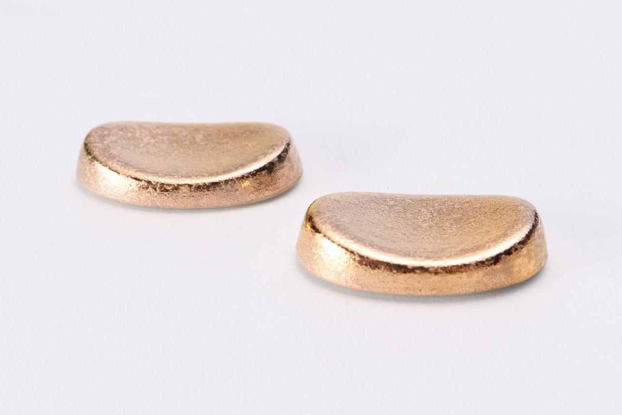 GOLDシリーズ 小判箸置(2個セット)(化粧箱入り) 画像メイン