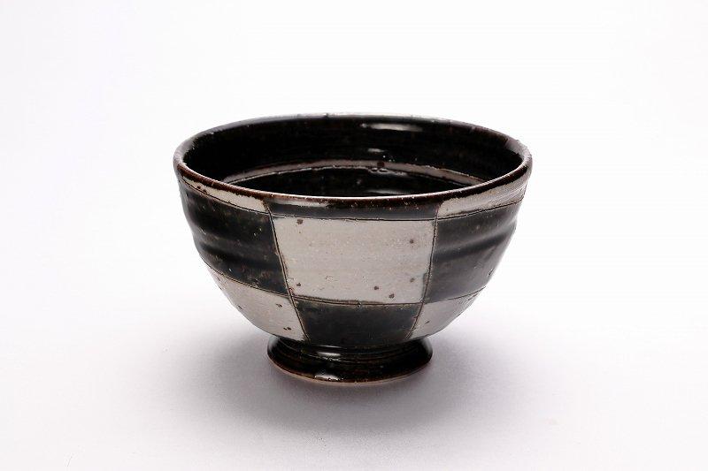 大桂工房 市松茶碗 ペア 画像サブ1