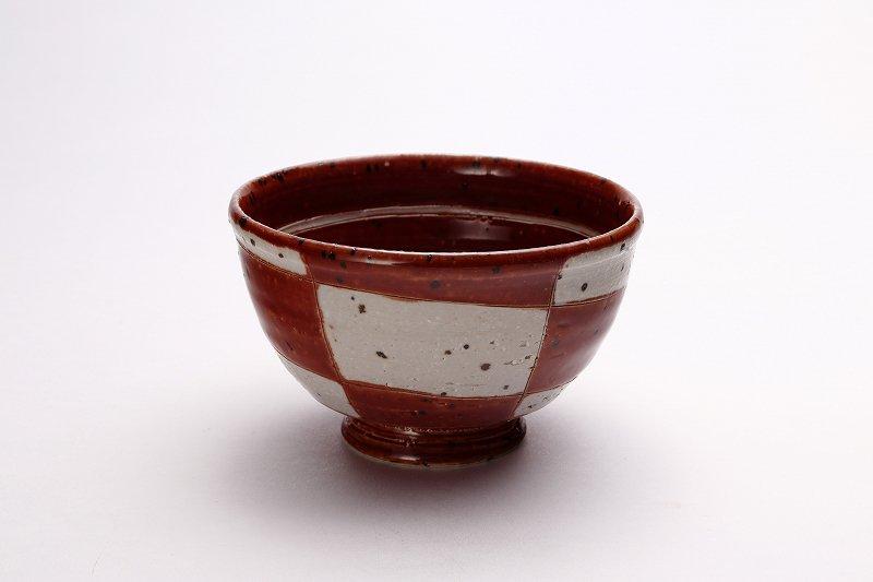 大桂工房 市松茶碗 ペア 画像サブ2