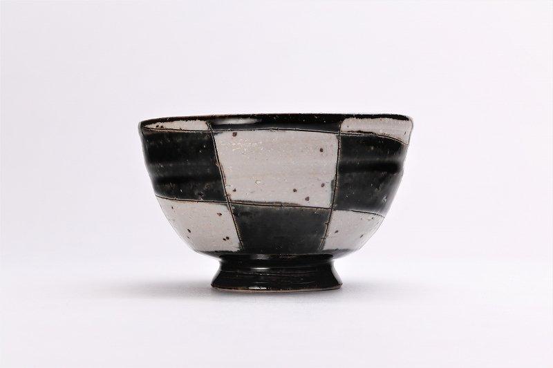 大桂工房 市松茶碗 ペア 画像サブ3