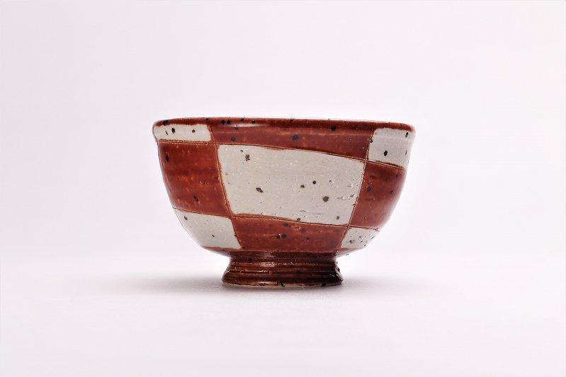 大桂工房 市松茶碗 ペア 画像サブ4