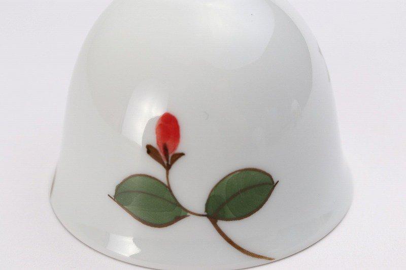 楽々シリーズ 椿(赤) 丸型風鈴 画像サブ4