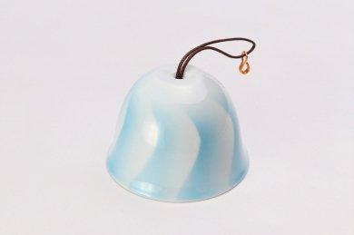 楽々シリーズ ブルー波 丸型風鈴