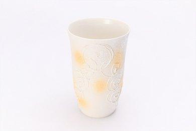楽々シリーズ 渦真珠雲母金 フリーカップ (化粧箱入り)