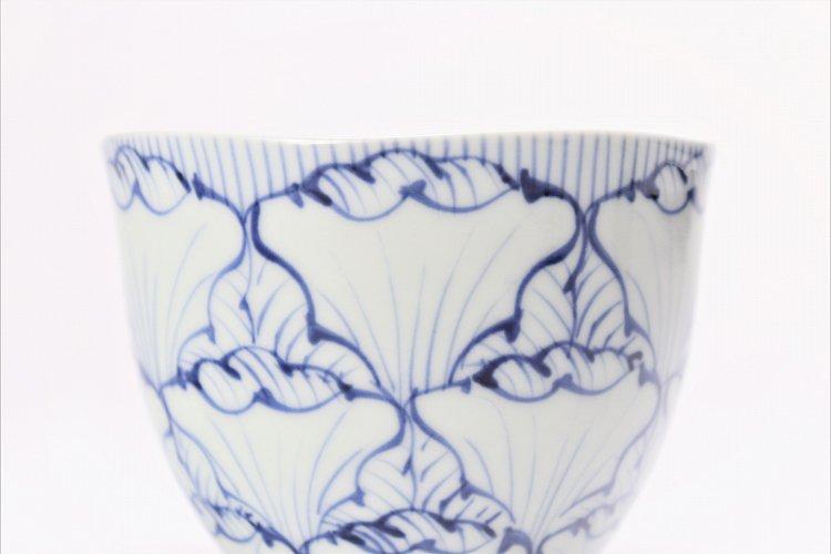 そうた窯 染付花弁紋 フリーカップ 画像サブ2