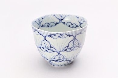 そうた窯 染付花弁紋 フリーカップ