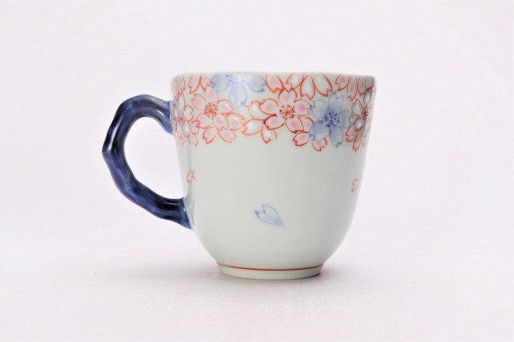 そうた窯 染錦渕桜 マグカップ 画像サブ2