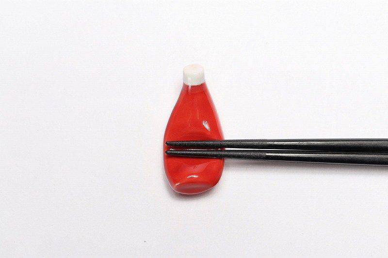 北川美宣窯 ケチャップ箸置き 画像サブ2