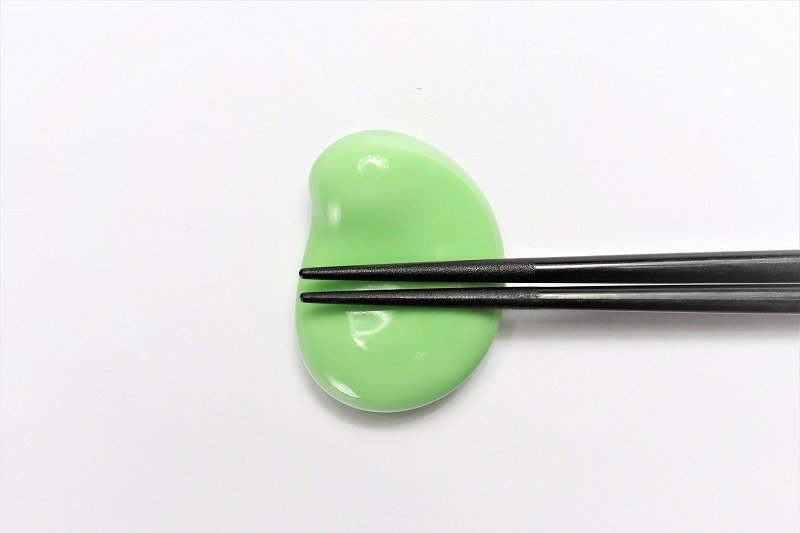 北川美宣窯 そら豆箸置き 画像サブ2