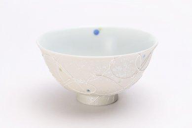 楽々シリーズ 色しずく(青・緑) 茶碗 (化粧箱入り)