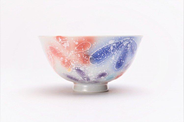 楽々シリーズ 四季花 ペア茶碗 (化粧箱入り) 画像サブ10