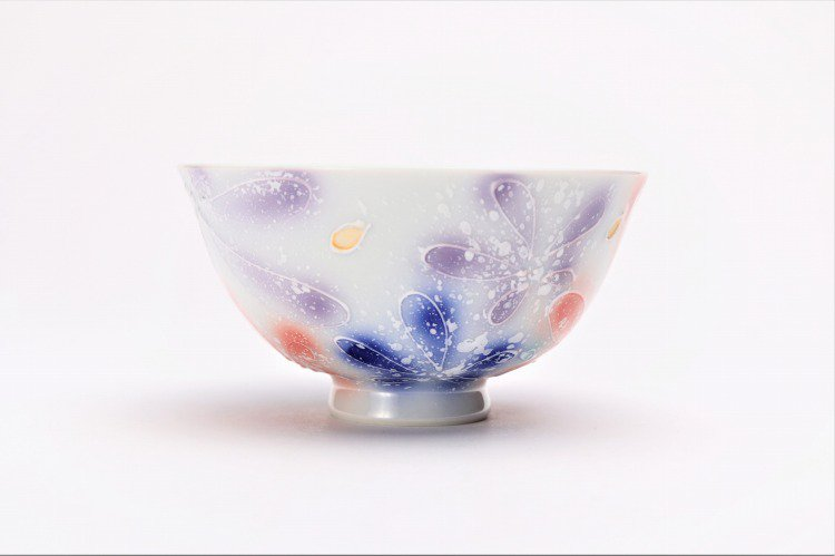 楽々シリーズ 四季花 ペア茶碗 (化粧箱入り) 画像サブ11