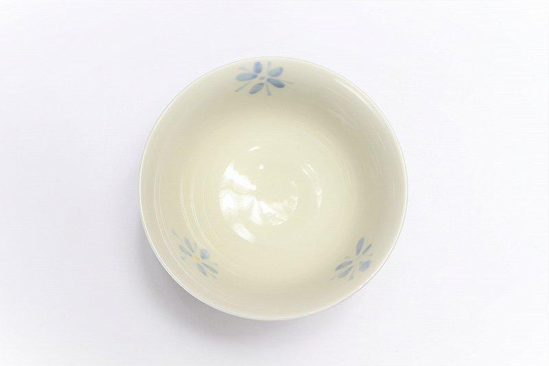 楽々シリーズ ラスター花絵(ブルー) 茶碗 (化粧箱入り) 画像サブ3