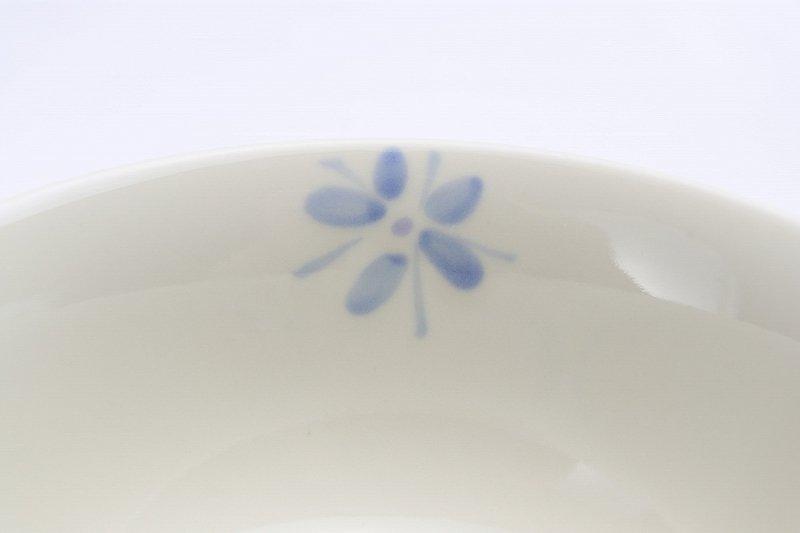 楽々シリーズ ラスター花絵(ブルー) 茶碗 (化粧箱入り) 画像サブ4