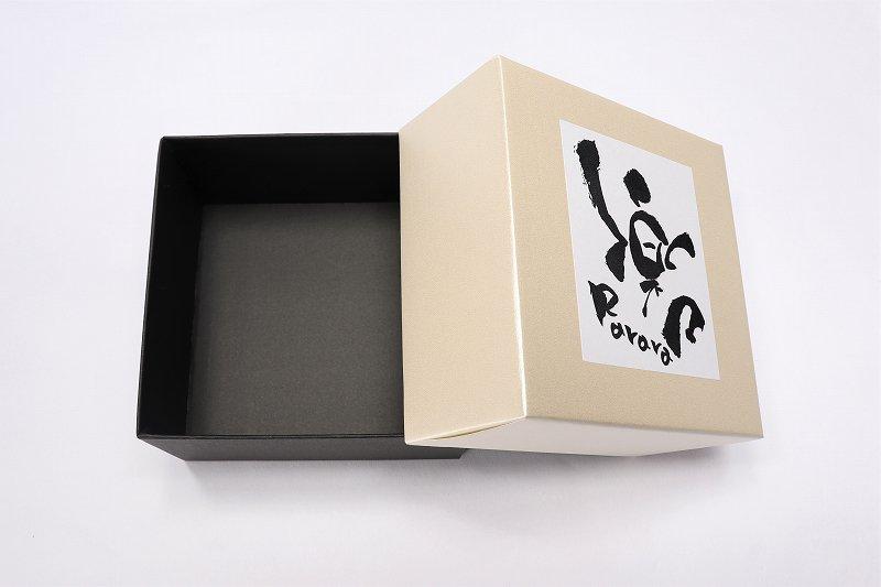 楽々シリーズ ラスター花絵(ブルー) 茶碗 (化粧箱入り) 画像サブ5
