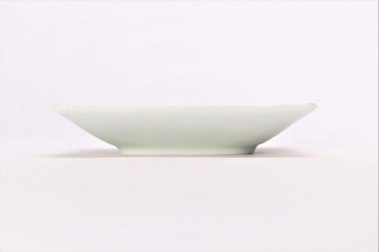 そうた窯 染付蛸唐草 正角皿(小) 画像サブ1