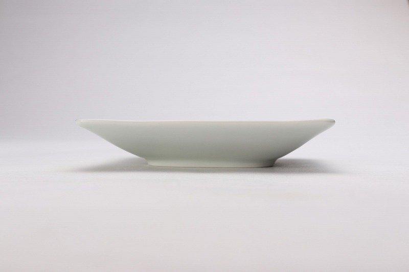 そうた窯 染付三方瓢絵 正角皿(小) 画像サブ2