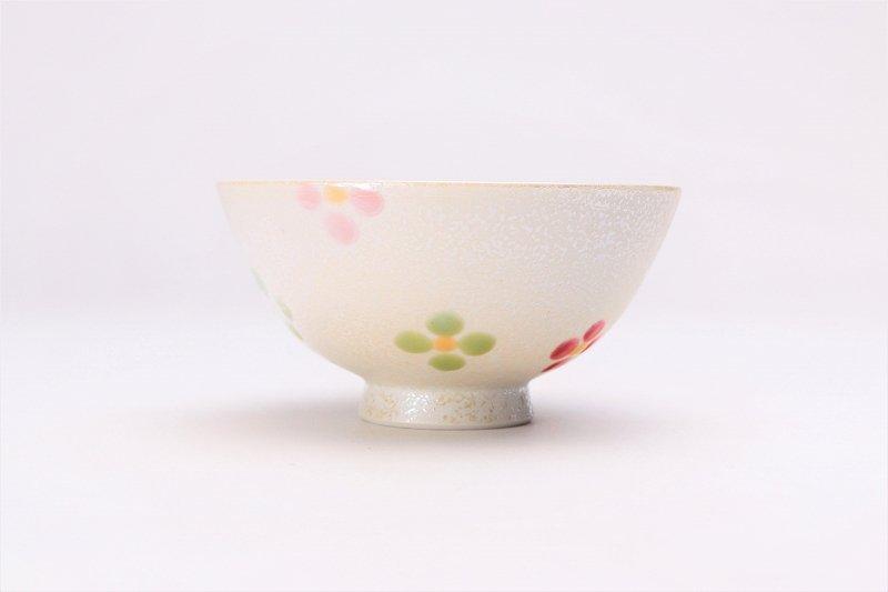楽々シリーズ ラスター小花散し ミニ茶碗 (化粧箱入り) 画像サブ2