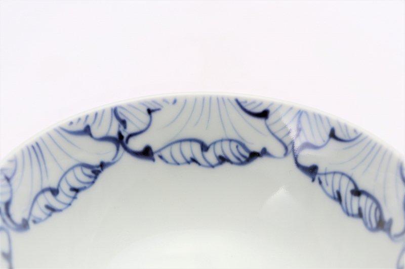 楽々シリーズ 染付花弁紋 ミニ茶碗 (化粧箱入り) 画像サブ3