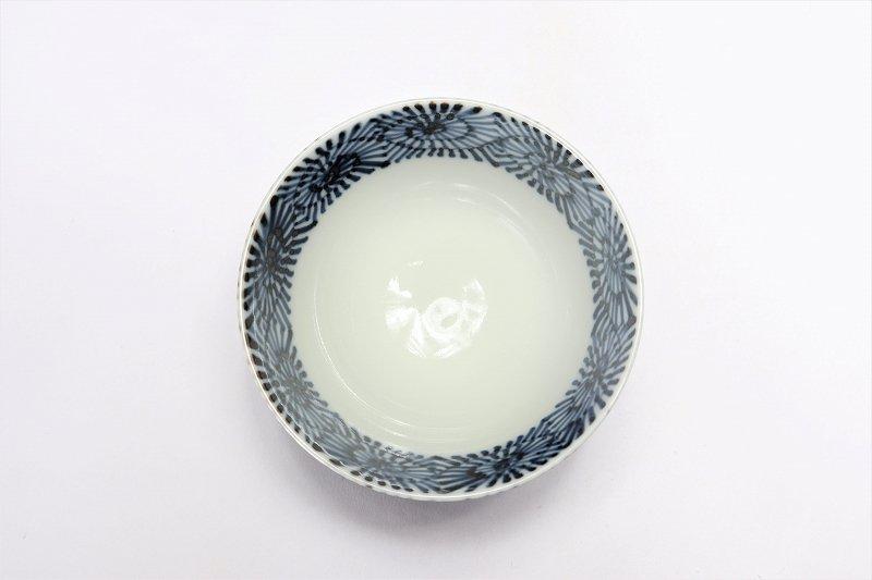 楽々シリーズ 染付蛸唐草 ミニ茶碗 (化粧箱入り) 画像サブ2