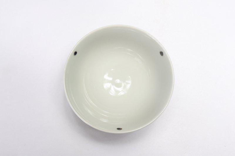 楽々シリーズ 染付小花紋 ミニ茶碗 (化粧箱入り) 画像サブ3