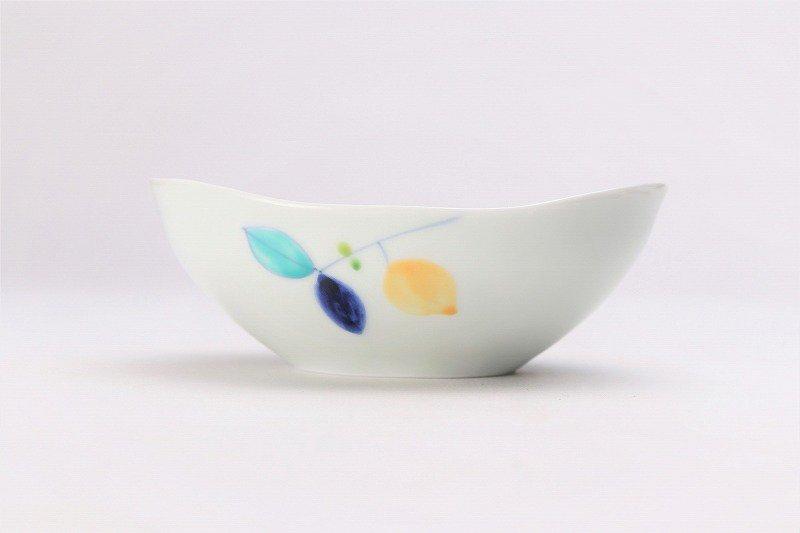 一峰窯 レモン 楕円小鉢 画像サブ2