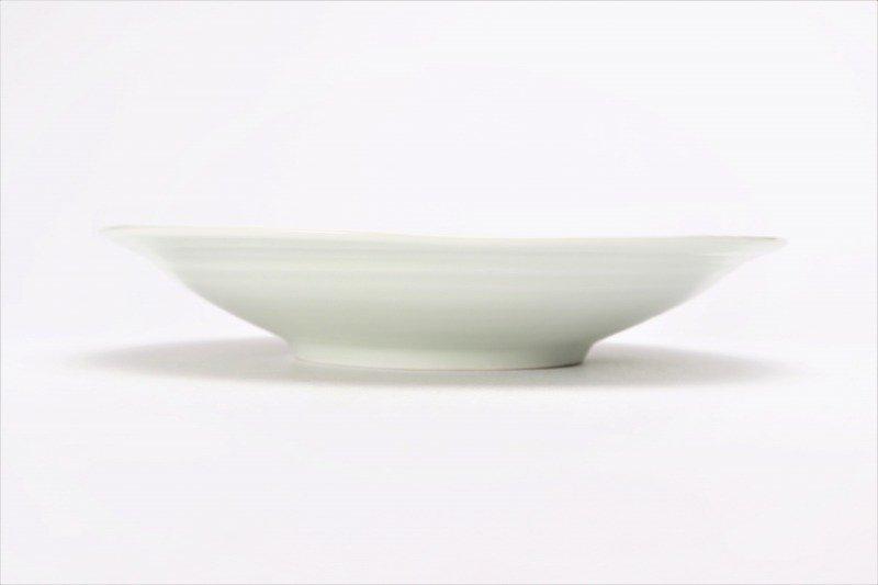 一峰窯 彩ぶどう 三角7寸皿 画像サブ1