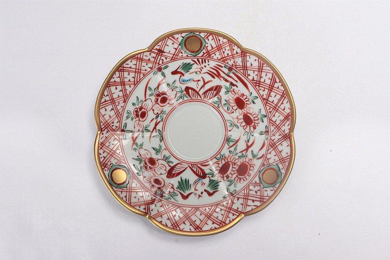福泉窯 錦万暦金彩 瓜型コーヒー碗皿 画像サブ5