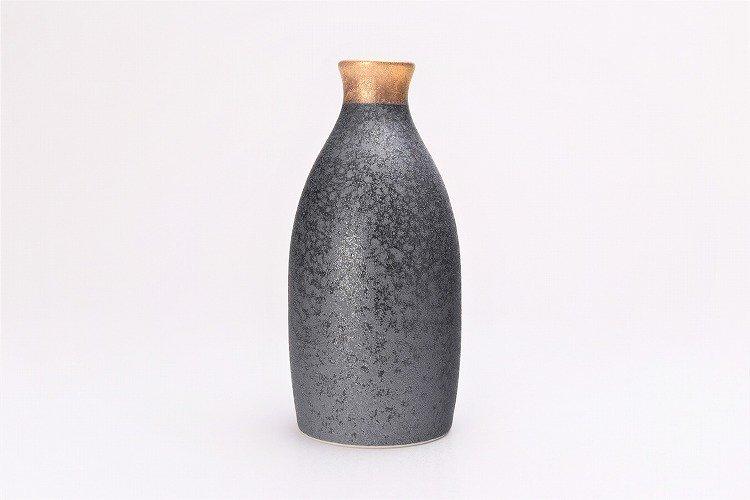 陶悦窯 晶渕太金塗り 1合徳利セット 画像サブ2