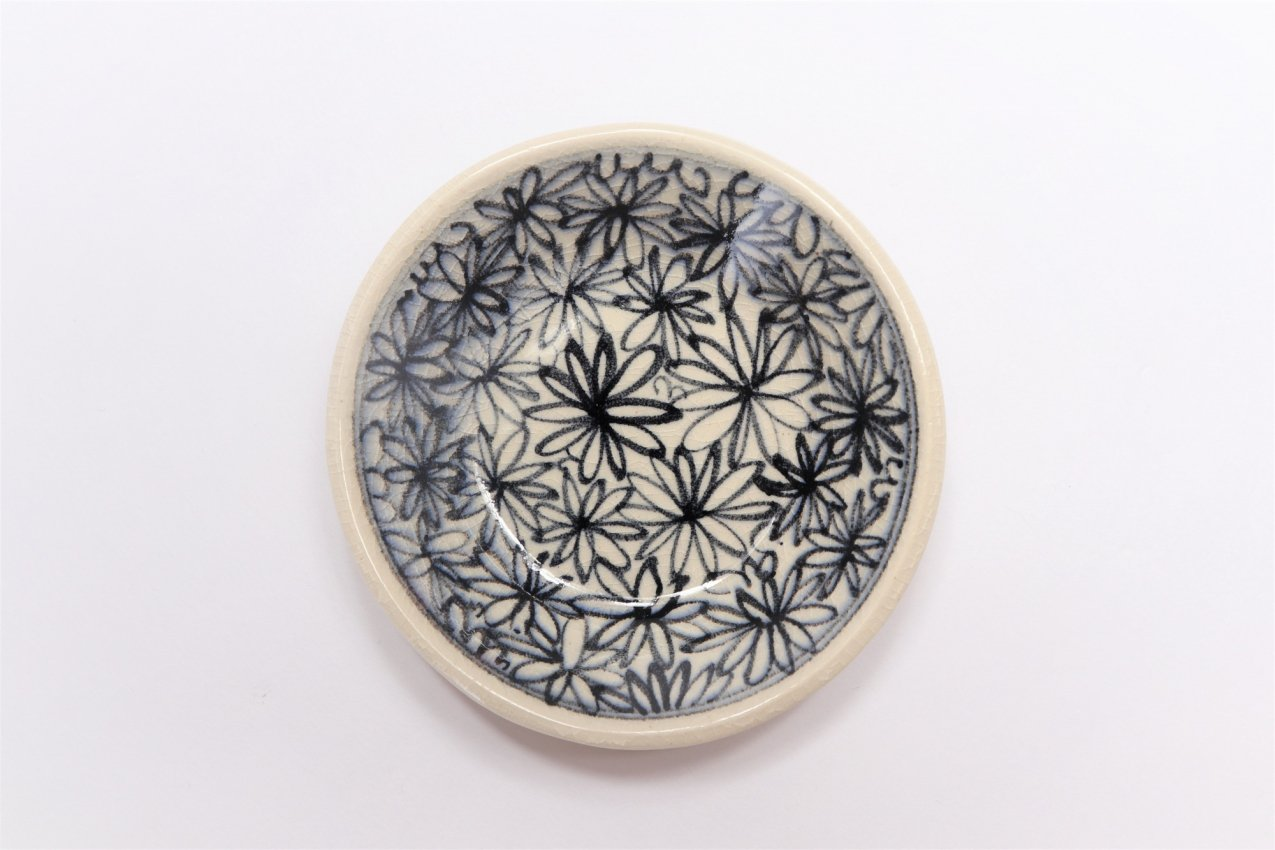 喜鶴製陶 花詰筒型マグカップC/Sペア 画像サブ7