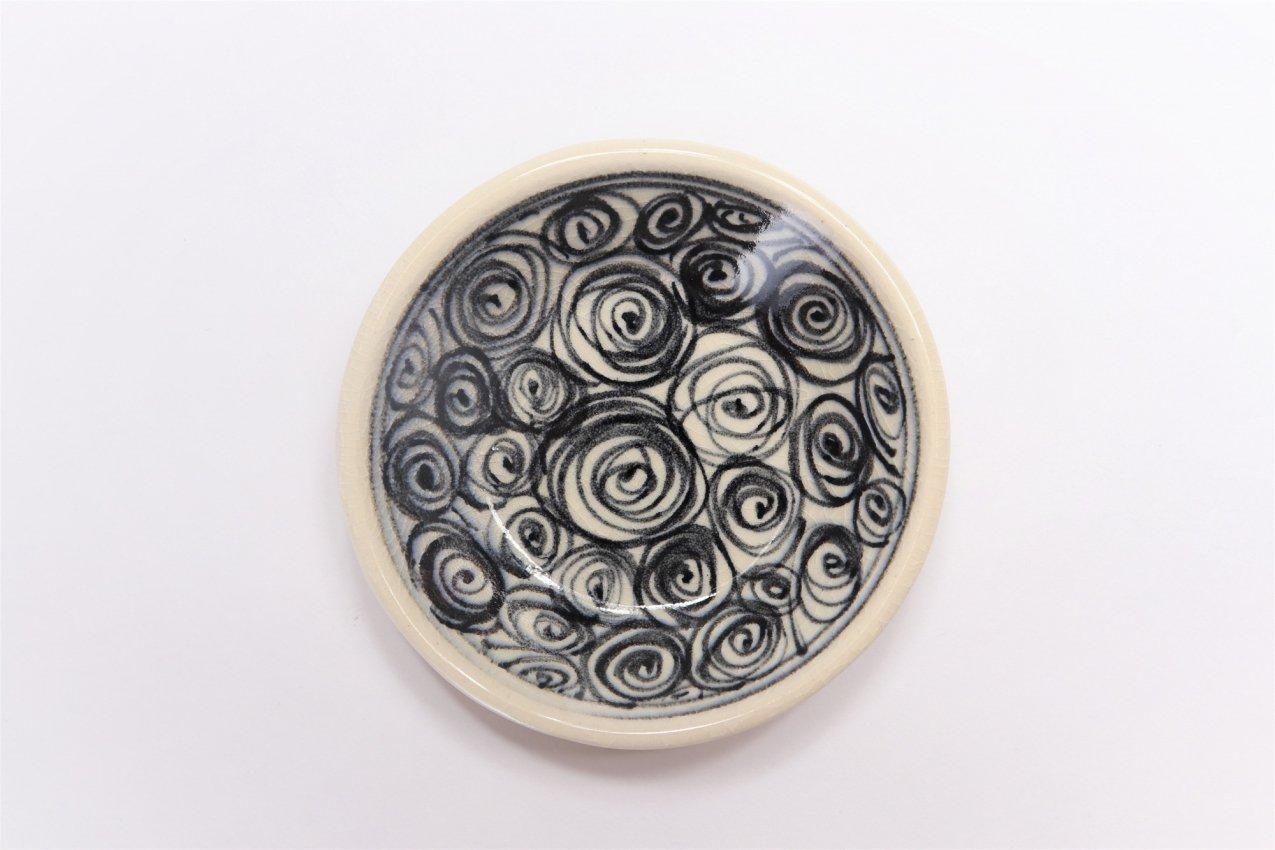 喜鶴製陶 渦紋筒型マグカップC/S(青) 画像サブ3