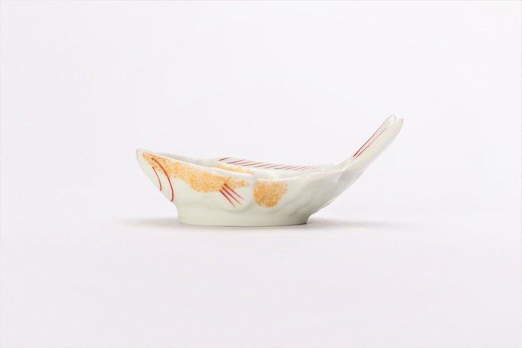 幸楽窯 錦金たたき鯛形小付 画像サブ1
