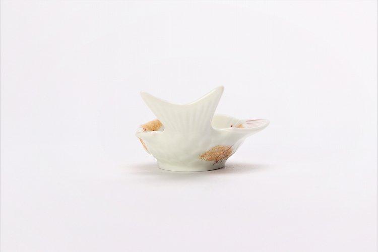 幸楽窯 錦金たたき鯛形小付 画像サブ2