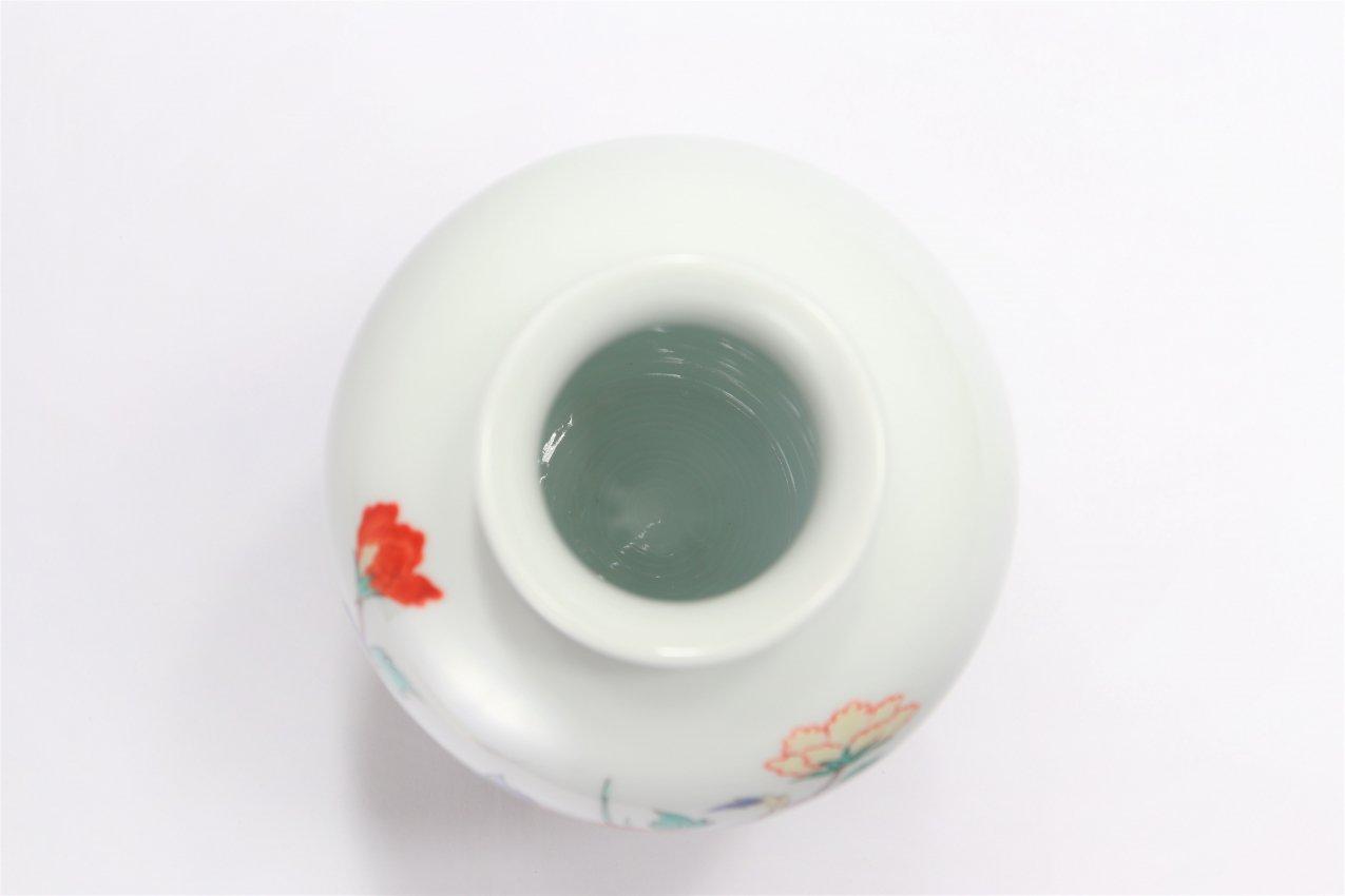 柿右衛門窯 花瓶(6.5寸) 牡丹鳥文 画像サブ5