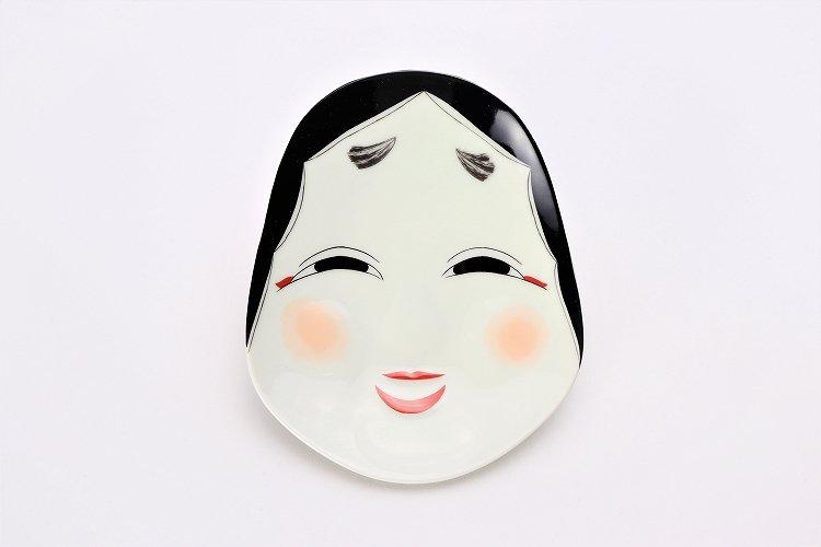 幸楽窯 錦おふくさん 銘々皿 画像サブ3
