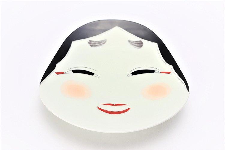 幸楽窯 錦おふくさん 盛皿 画像メイン