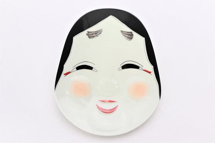 幸楽窯 錦おふくさん 盛皿 画像サブ3
