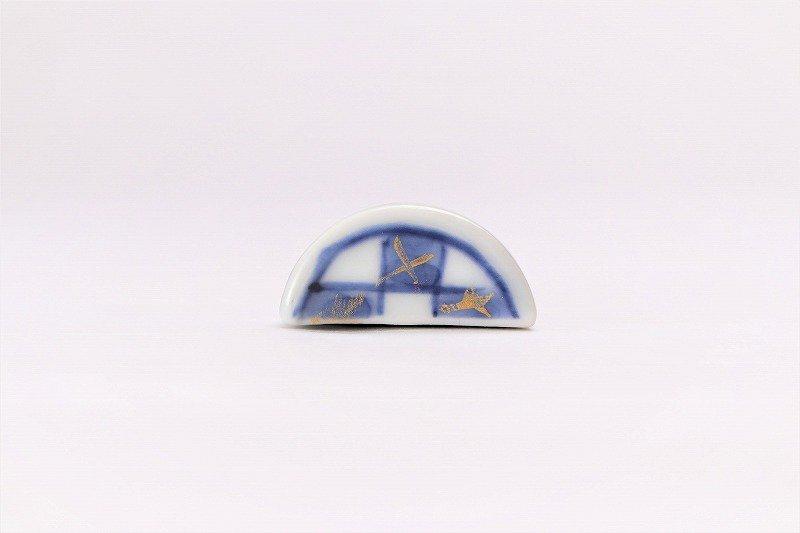 一夢窯 市松 湯呑型箸置き 画像サブ2