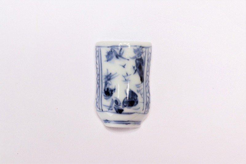 一夢窯 山水 湯呑型箸置き 画像メイン