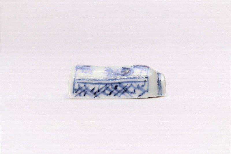 一夢窯 山水 湯呑型箸置き 画像サブ1