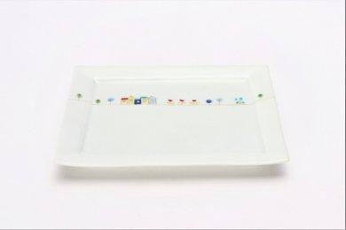 一峰窯 オランダ 長角トレイ(小)