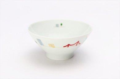 一峰窯 アメリカ 茶碗(小)